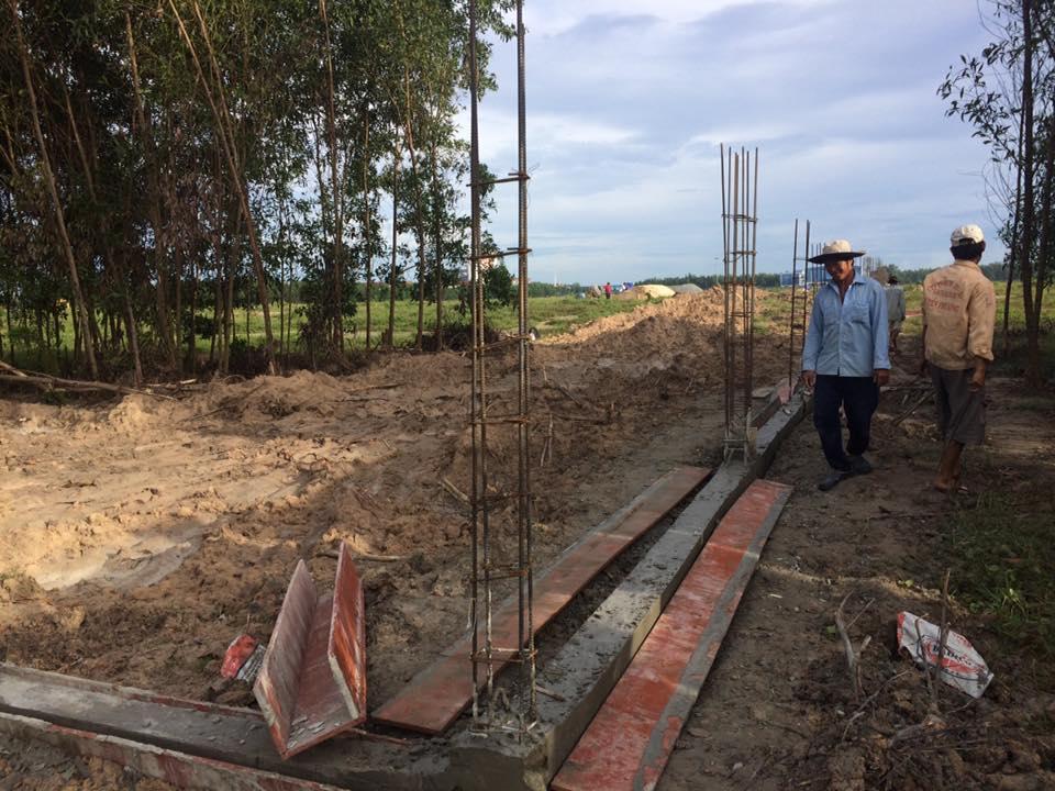 công trình xây dựng nhà xưởng bằng gạch block